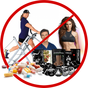 no exercise no supplements no fad diets