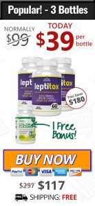 3 bottles of leptitox and 1 bottle of colon cleanse free bonus